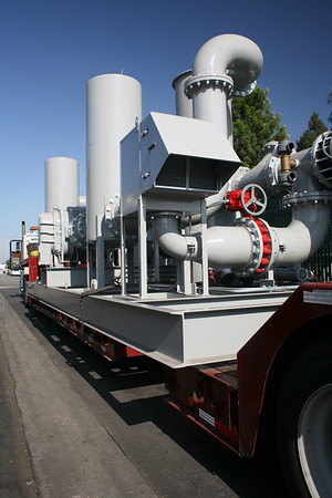 McKenna Engineering Skidded Vapor Extractor prior to shipment